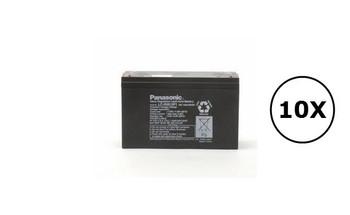 HP  A2996BR Panasonic Battery - 6V 12Ah - Terminal Size 0.25 - LC-R0612P1