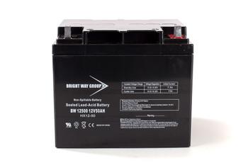 HP R12000 N+X Universal Battery - 12 Volts 50Ah -Terminal T4 - UB12500| Battery Specialist