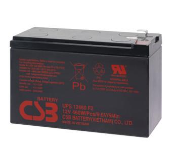 Liebert GXT 48VBATT CSB Battery - 12 Volts 9.0Ah - 76.7 Watts Per Cell -Terminal F2 - UPS12460F2 - 8 Pack| Battery Specialist Canada