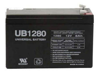 Nfinity 8kVA Universal Battery - 12 Volts 8Ah - Terminal F2 - UB1280| Battery Specialist Canada