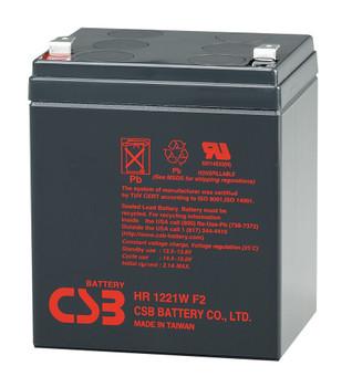 Liebert PowerSure PSP 300 High Rate CSB Battery - 12 Volts 5.1Ah - 21 Watts Per Cell - Terminal F2   Battery Specialist Canada