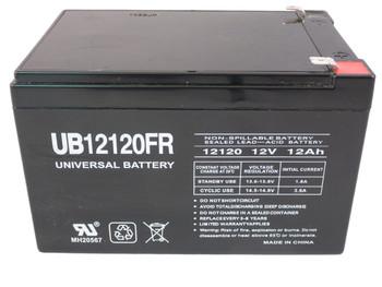 Liebert PSA 700  Flame Retardant Universal Battery -12 Volts 12Ah -Terminal F2- UB12120FR| Battery Specialist Canada