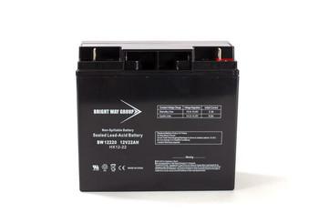 Liebert UD1400VA Replacement Battery - 12 Volts 22Ah -Terminal T4| Battery Specialist Canada