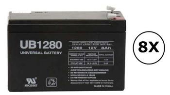 2700W - NY8CN Universal Battery - 12 Volts 8Ah - Terminal F2 - UB1280| Battery Specialist Canada