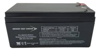 APC Back UPS ES 350VA BE350G  Universal Battery - 12V 3.4Ah - Terminal Size F1 -  UB1234 Front| Battery Specialist Canada