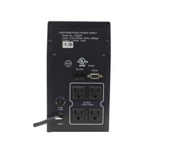 120VAC 1200VA Uninterrupted Power Supply - 41302 - Back View | Battery Specialist Canada