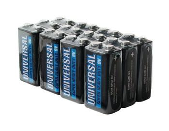 9V Batteries - 12 Pack - Universal Alkaline Batteries - D5316 - D5916 | Battery Specialist Canada