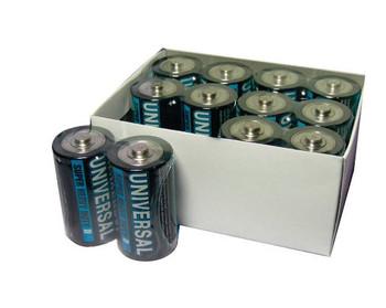 D Batteries - 12 Pack - Universal Alkaline Batteries - D5315 - D5915 | Battery Specialist Canada