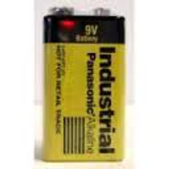 9V Batteries - 72 Pack - Panasonic Industrial Alkaline Batteries - C3787 | Battery Specialist Canada