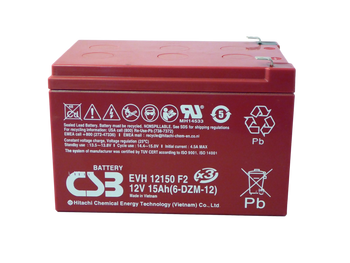 EVH12150 - 12Volts 15Ah CSB Battery | batteryspecialist.ca