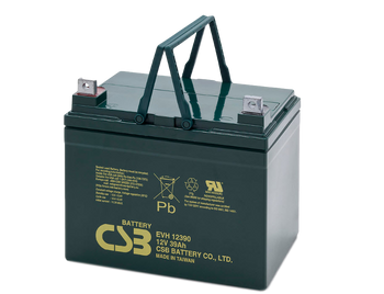 EVH12390 - 12V 39Ah CSB Battery Side | batteryspecialist.ca