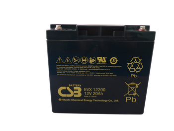 12V 20Ah - High Cycle - CSB Battery - EVX12200 | Battery Specialist Canada
