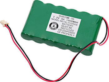 Ademco Lynx Back Up - WALNYXRCHB-SC NiMh Battery - 7.2V - 1800mAh | Battery Specialist Canada