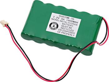 Ademco WALNYX-RCHB-SC NiMh Battery - 7.2V - 1800mAh | Battery Specialist Canada