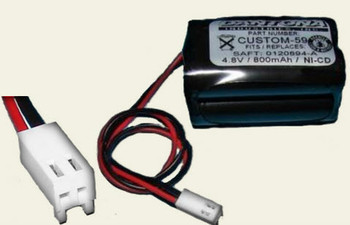 Astralite 20-0001 NiCd Battery - 4.8V - 800mAh | Battery Specialist Canada