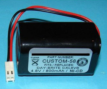 CTL - CTL685896020 NiCd Battery - 4.8V - 800mAh | Battery Specialist Canada
