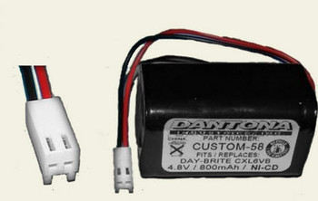 N700AAC-F22C/C NiCd Battery - 4.8V - 800mAh | Battery Specialist Canada
