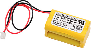 Dantona - D-AA650BX4 - 2 On Top Of 2 - NiCd Battery - 4.8V - 800mAh | Battery Specialist Canada