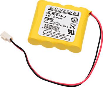 Dual-Lite - 0120790 REV B - NiCd Battery - 4.8V - 800mAh | Battery Specialist Canada