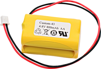Emergi-Lite - BL93NC487 - NiCd Battery - 4.8V - 800mAh | Battery Specialist Canada