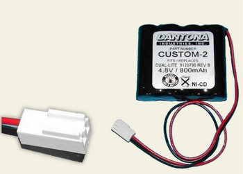 Interstate - NIC0754 - NiCd Battery - 4.8V - 800mAh | Battery Specialist Canada