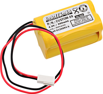 Interstate - NIC0811 - NiCd Battery - 4.8V - 800mAh | Battery Specialist Canada
