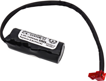 Interstate - NIC1169 - NiCd Battery - 1.2V - 1400mAh | Battery Specialist Canada