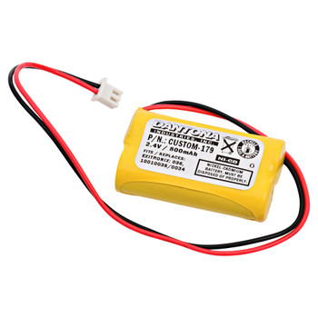 Interstate - NIC1394 - NiCd Battery - 2.4V - 600mAh | Battery Specialist Canada