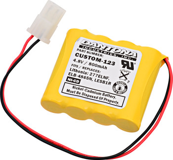 Lithonia - ELB4865N - NiCd Battery - 4.8V - 800mAh | Battery Specialist Canada
