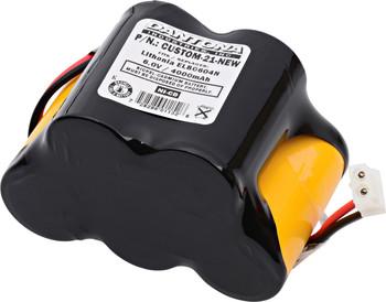 Panasonic Lighting - MRDF3.F2C - NiCd Battery - 6V - 4000mAh | Battery Specialist Canada