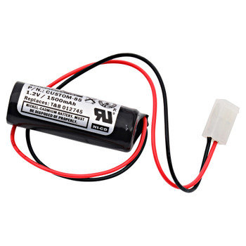 T&B - 12745 - NiCd Battery - 1.2V - 1500mAh | Battery Specialist Canada