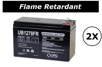 XS 1500 - RS1500 Flame Retardant Universal Battery - 12 Volts 7Ah - Terminal F2 - UB1270FR - 2 Pack| Battery Specialist Canada