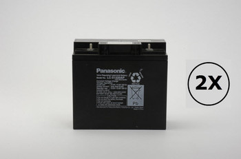 Pro 125OVX Batteries Universal Battery - 12 Volts 18Ah -Terminal T4 - UB12180 - 2 Pack| Battery Specialist Canada