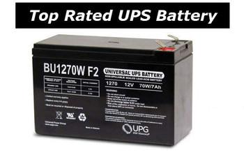 APC Back UPS Pro 500 LS - BP500CLR  High Rate UPS Universal Battery - 12 Volts 35 Watts Per Cell -Terminal F2 - BU1270W| Battery Specialist Canada