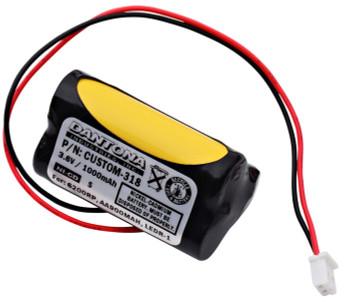 Unitech - AA900MAH - NiCd Battery - 3.6V - 1000mAh | Battery Specialist Canada