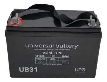 12V 100Ah Group 31 - Dual Post Threaded & Auto Front - Battery  | Battery Specialist Canada