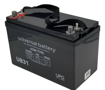 12V 100Ah Group 31 - Dual Post Threaded & Auto Front - Battery - UB31 | Battery Specialist Canada