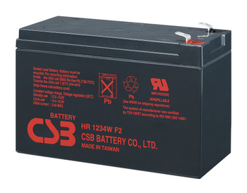 HR1234W - CBS Battery - Terminal F2 - 12 Volt 34Watts/Cell 9.0Amp Hour | batteryspecialist.ca