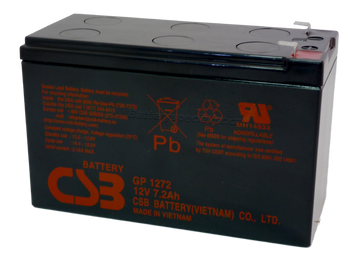 GP1272 - CBS Battery - Terminal F1 - 12 Volt 7.2Ah | Battery Specialist Canada