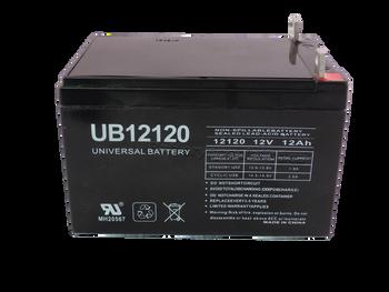12 Volts 12Ah -Terminal Nut & Bolt UB12120 | Battery Specialist Canada
