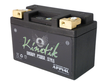 YB14-B2 - Kinetik Phantom LiFePO4 Battery | Battery Specialist Canada