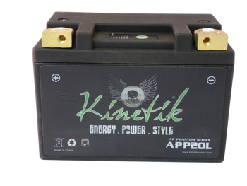 HYB16A-AB - LiFePO4 Battery - Side | Battery Specialist Canada