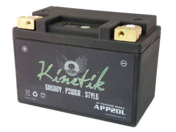 YTX16-BS - Kinetik Phantom LiFePO4 Battery | Battery Specialist Canada
