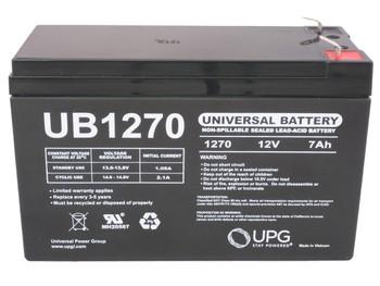Alpha Tetrex 800 - Battery Replacement - 12V 7Ah