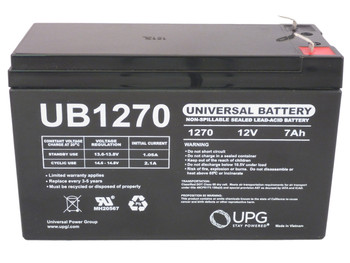 Pace 800+ VITALMAX - Battery Replacement - 12V 7Ah