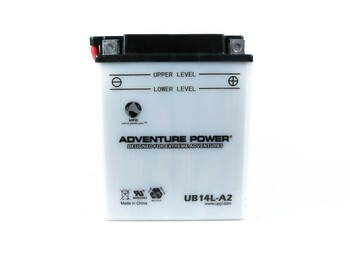 14LA2 Power Sport Battery 12 Volts 14 Amp Hrs | Battery Specialist Canada