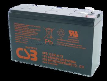 UPS240 - CBS Battery - Terminal F2 - 12 Volt 6.4Ah | Battery Specialist Canada