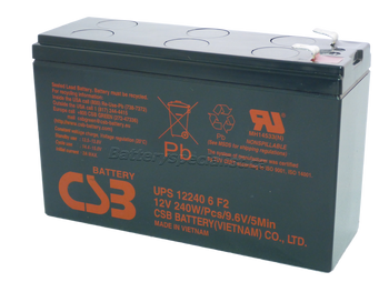 CPS5.5-12 - CBS Battery - Terminal F2 - 12 Volt 6.4Ah | Battery Specialist Canada