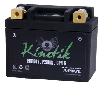 12N7-4A - Kinetik Phantom LiFePO4 Battery | Battery Specialist Canada