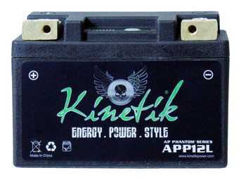 YT9B-BS - Kinetik Phantom LiFePO4 Battery - APP12L | Battery Specialist Canada